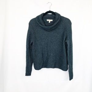 Banana Republic Gray Cowl Neck Knit Sweater XS